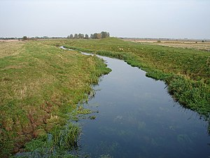 Great Eau - The Great Eau at Barfen Farm near to Gayton le Marsh
