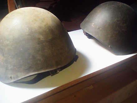 Greek Army Helmets of WW II,private collection Greek Army Helmets of WW II.jpg
