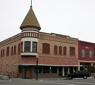 Ritzville, Washington - Gritman Building, downtown Ritzville