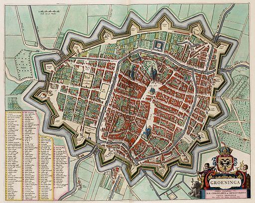 Groeninga - Groningen (Atlas van Loon)