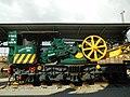 Grue à vapeur Craven Bros.- détail - Train World.jpg