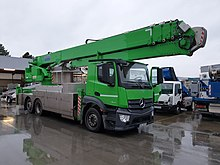 Grue mobile de type Klaas K1003 RSX
