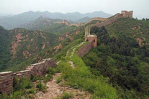 Gubeikou - The Gubeikou Great Wall towards Jinshanling