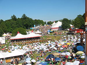 Gurtenfestival Gelaende 2003