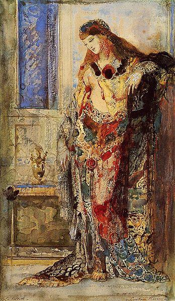 File:Gustave Moreau - La Toilette.jpg