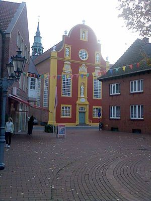 Meppen - The Gymnasium church