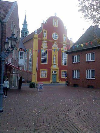 Meppen - The Gymnasium church