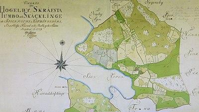 Karta från 1779