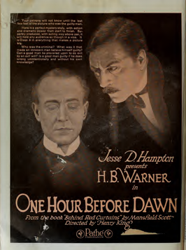 Advertentie voor One Hour Before Dawn
