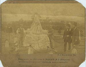 Frederick Moynihan - H.M.S Eurydice Memorial 1878
