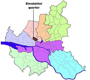 Eimsbüttel (quarter) - Image: HH Eimsbüttel quarter