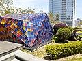 HK 中環 Central 國際金融中心 IFC 平台 terrace roof garden the colorful glass tiles sculptures April 2020 SS2 02.jpg