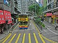 HK Bus 5 tour view Sai Ying Pun Queen's Road 水街 West yellow crossway view CityBus 7 Water Street Apr-2013.JPG