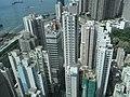 HK Kennedy Town 寶雅山 46C Belcher's Hill view east side high-rises builidngs June-2011.jpg