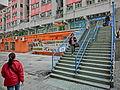 HK Kennedy Town Luen On Apartments outdoor Stairs Feb-2013.JPG