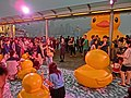 HK TST evening 115 yellow Rubber Duck visitors May 2013.JPG