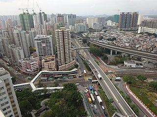 Yuen Long Town Human settlement in New Territories, Hong Kong