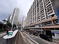 HK tram view Shek Tong Tsui to Sai Ying Pun Des Voeux Road West Sheung Wan Des Voeux Road Central September 2020 SS2 07.jpg