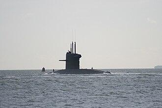Walrus-class submarine - Image: HNLMS Dolfijn 2