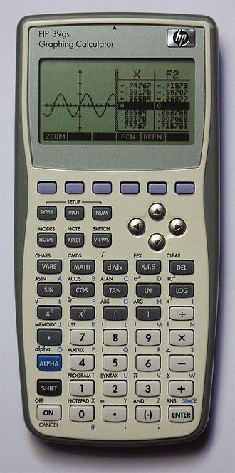HP 39/40 series - HP 39gs