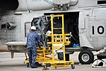 HQS-104 dipping sonar mounted on SH-60K(8410) at JMSDF Maizuru Air Station May 18, 2019 02.jpg