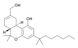 Synthetic cannabinoids - Image: HU 210 structure