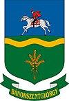 Huy hiệu của Bánokszentgyörgy