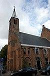 haarlem - waalse kerk (schuinvoor)