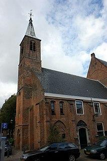 Waalse Kerk, Haarlem 15th century Walloon church on the Begijnhof in Haarlem, Netherlands