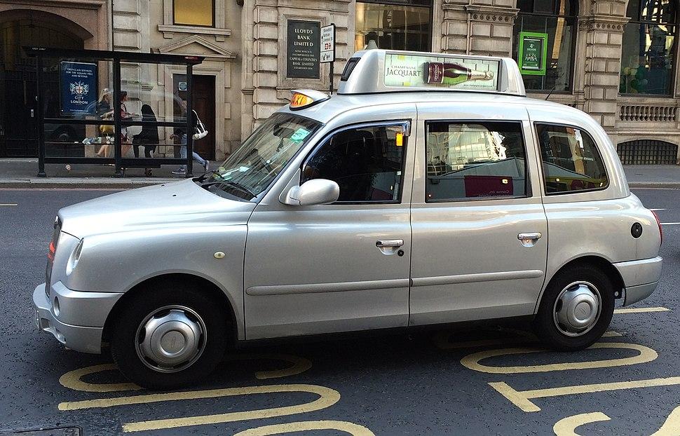 Hackney Carriage Black Cab Digital Advertising TaxiTop Eyetease