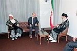 Hafez al-Assad visit to Iran, 1 August 1997 (3).jpg