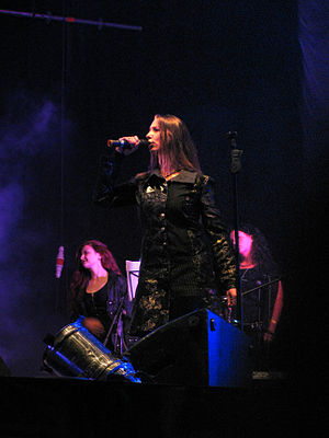 Haggard (band) - Haggard playing at Global East Rock Festival 2010