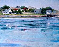 Cecilia Beaux: Half-Tide, Annisquam River