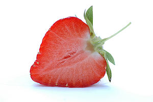 Strawberry (Photo credit: Wikipedia)