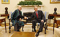Hamid Karzai and George Bush in September 2008.jpg