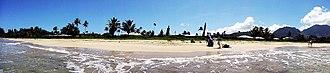 Hanalei Bay - Image: Hanalei bay panorama