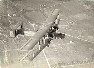 Handley Page - Atlantic in flight, non-stop from New York to Chicago, 1919