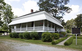 Hank Williams - Williams' family house in Georgiana, Alabama
