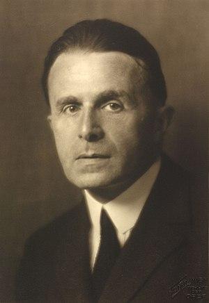 Hans Tietze (1880–1954) 1927 © Georg Fayer (1892–1950) OeNB 10452443.jpg