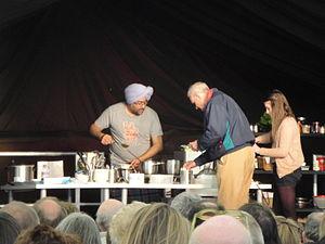 Hardeep Singh Kohli - Hardeep Singh Kohli performing at Isle of Arts 2012, in Ventnor, Isle of Wight.