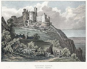 Harlech Castle, Merionethshire, North Wales