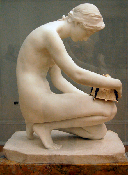 File:Harry Bates - Pandora, 1891, right - on temporary display at Tate Britain, September 2010.png