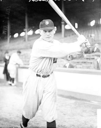 1921 Detroit Tigers season - 1921 AL batting champ Harry Heilmann