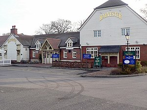 Harvester (restaurant) - Harvester in Fleet, Hampshire.