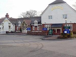 Harvester (restaurant) - Harvester in Fleet, Hampshire.