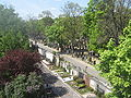 Hauptfriedhof Wuerzburg from bridge in east 14.jpg