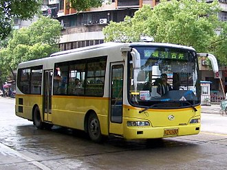 Jiangmen - Local bus