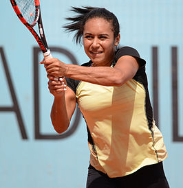 Winnares in het enkelspel, Heather Watson