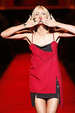 Heidi Klum at The Heart Truth Fashion Show 2008