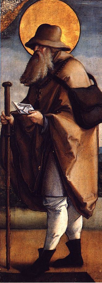 Judoc - A 16th-century portrayal of Saint Judoc by the Master of Meßkirch.